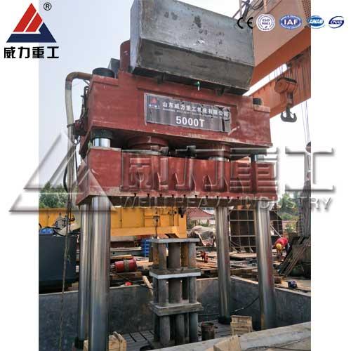 5000吨三梁四柱液压机,5000T三梁四柱油压机