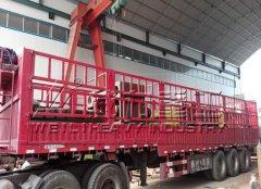 山西长治1200吨四柱液压机发货