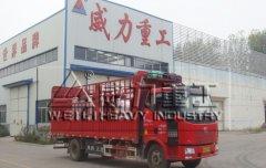 泰安315吨三梁四柱快速液压机设备发货