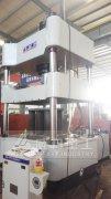 400吨粉末成型四柱液压机速度转换回路介绍