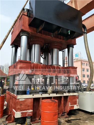2000吨三梁四柱液压机(YW32-2000T)三梁四柱油压机