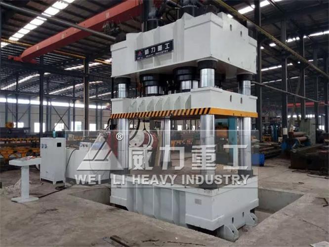2500吨三梁四柱液压机(YW32-2500T)三梁四柱油压机