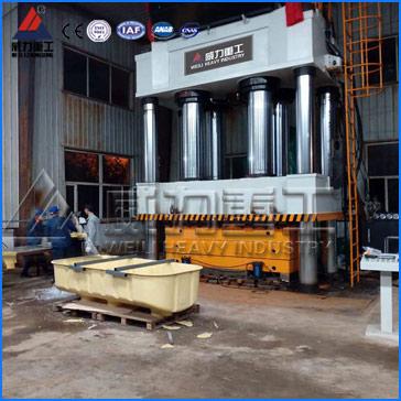 4000吨三梁四柱油压机,4000T三梁四柱液压机