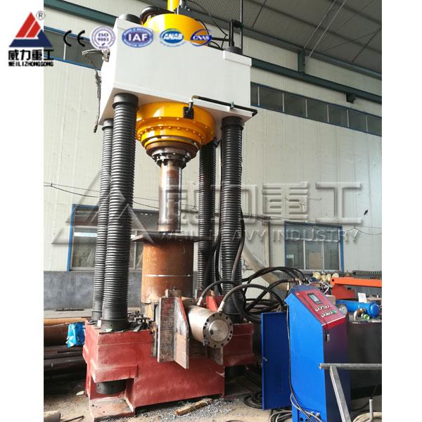 800吨二梁四柱油压机(YW31-800T)两梁四柱液压机