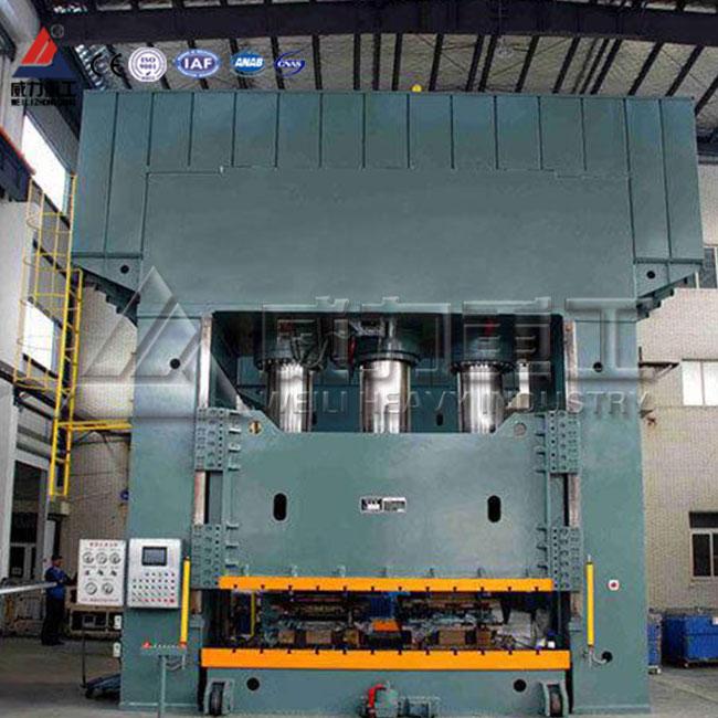 YW96K汽车电动车覆盖件冲压框式液压机,汽车内饰车身覆盖件框架式四柱液压机
