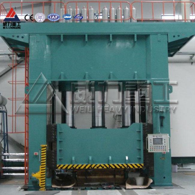 碳棒活性炭粉末成型液压机,碳棒活性炭框式成型四柱液压机
