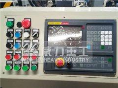 榆林煤矿630吨锚杆托盘四柱液压机自动化生产线